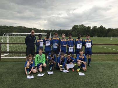 Rutlish Yr 7 football success